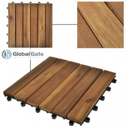 New trend flooring with wood deck tiles